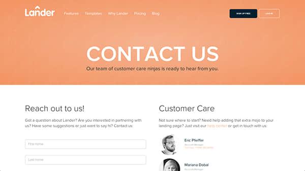 提升用户体验的15种联系人页面设计方案 联系人设计 网页设计 web 设计  %e7%bd%91%e9%a1%b5%e8%ae%be%e8%ae%a1