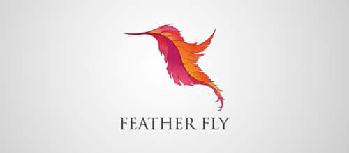 12-feather-fly-logo