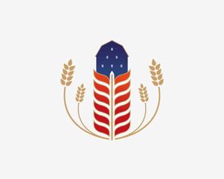 21个麦穗造型logo设计方案欣赏 国外Logo设计  logo%e8%ae%be%e8%ae%a1
