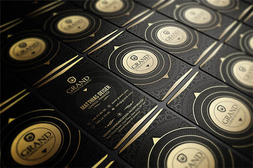 21-nice-gold-business-card