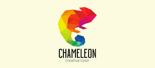 27-colorful-chameleon-logo
