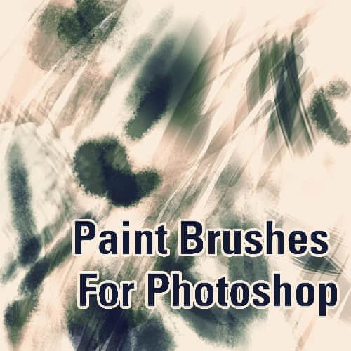 光影涂抹画笔PS笔触笔刷 涂抹笔刷  photoshop brush