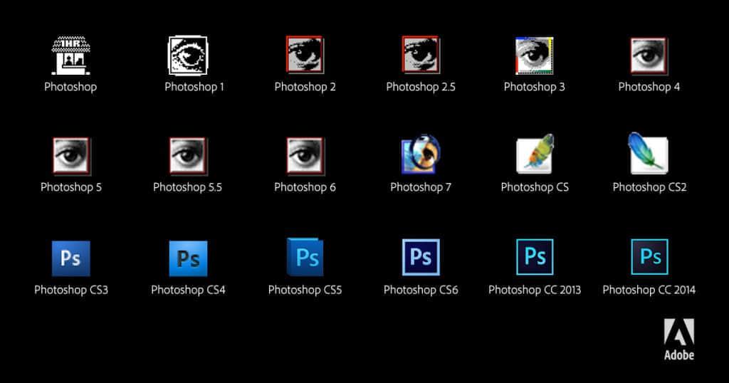 喜迎25岁:Photoshop为自己庆生放短片 Photoshop演变  design information hdp
