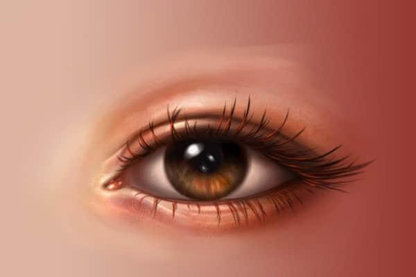 超级CG手绘教程:如何用PS制作一个性感美丽的眼睛? ps教程 CG教程  ruanjian jiaocheng
