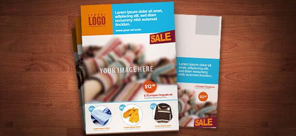 营销广告传单PSD模版素材下载 广告传单psd素材  other material
