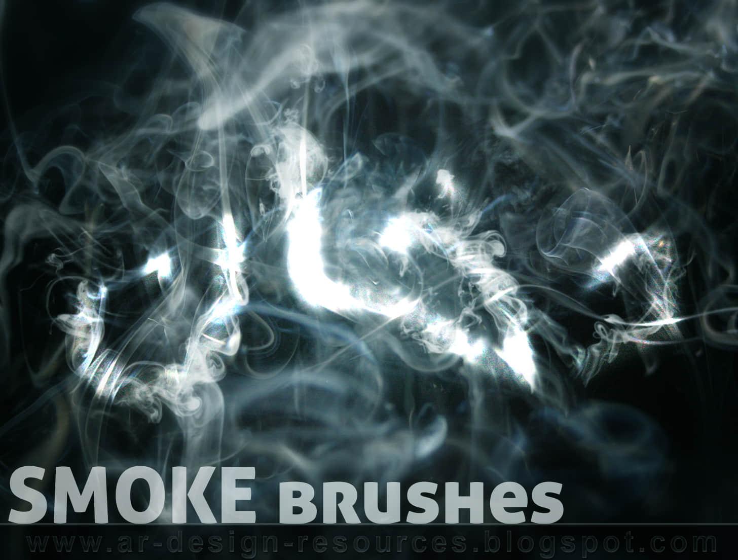 高级烟雾效果PS笔刷 烟雾笔刷 烟笔刷  flame brushes