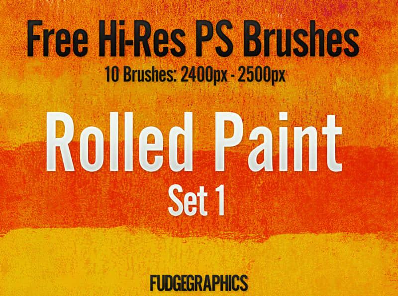 油漆滚过纹理效果Photoshop笔刷 #.1 油漆纹理笔刷 刷子涂痕笔刷  %e6%b2%b9%e6%bc%86%e7%ac%94%e5%88%b7
