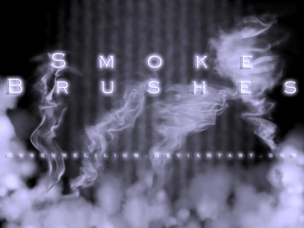 真实烟雾、雾状、水汽Photoshop笔刷素材 烟雾笔刷 水汽笔刷 气雾笔刷  flame brushes