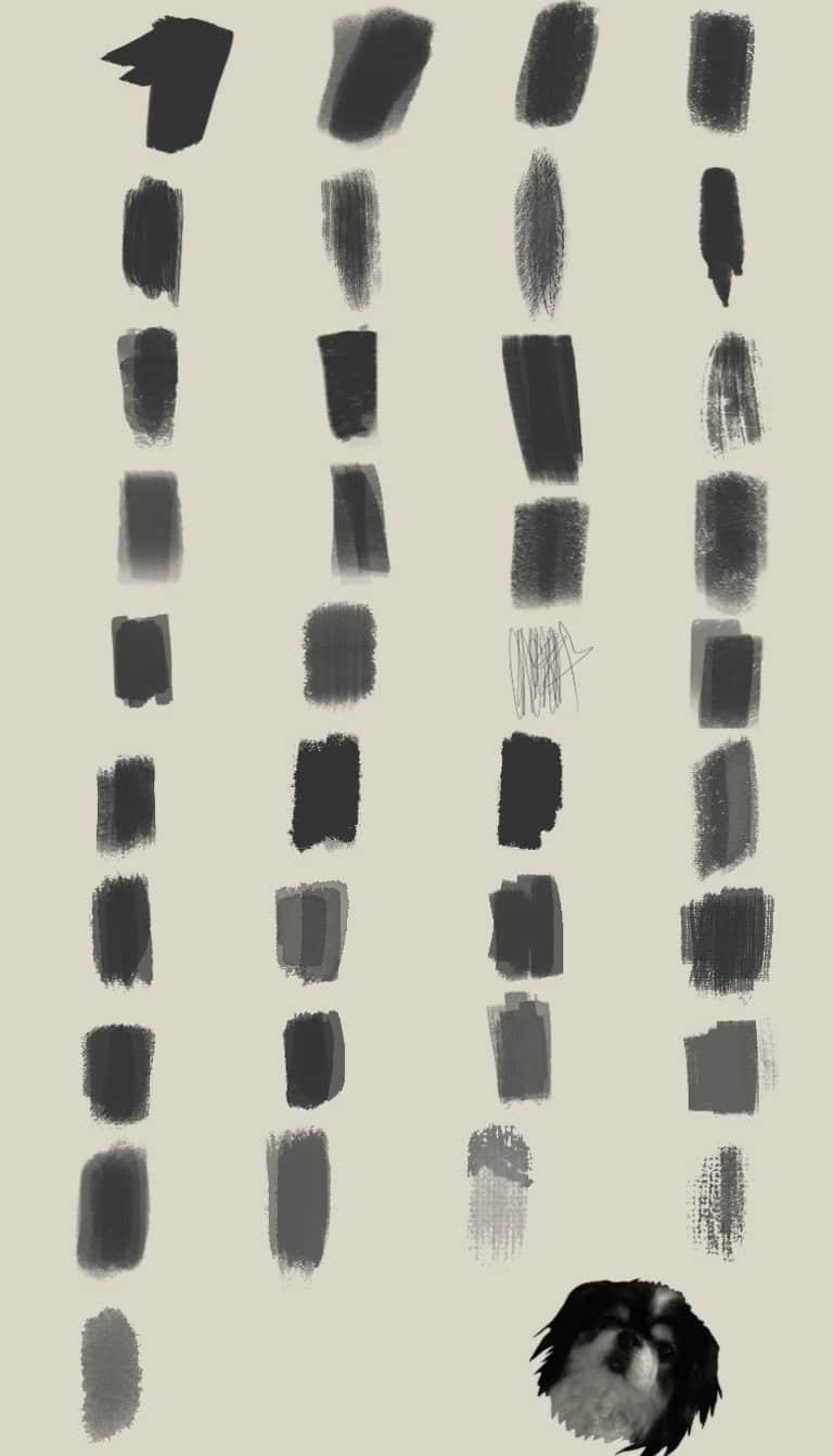 水墨、颜料划痕Photoshop笔触笔刷 颜料笔刷 油漆划痕笔刷 水墨笔刷 墨迹笔刷  %e6%b2%b9%e6%bc%86%e7%ac%94%e5%88%b7