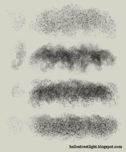 4种免费痕迹、污渍效果纹理PS笔刷下载 纹理笔刷 污渍笔刷  %e5%a2%99%e5%a3%81%e4%b8%8e%e5%9c%b0%e9%9d%a2%e7%ac%94%e5%88%b7