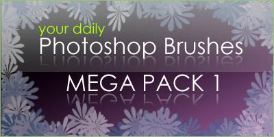 34个Photoshop笔刷合集打包下载 笔刷打包 懒人笔刷套装  photoshop brush