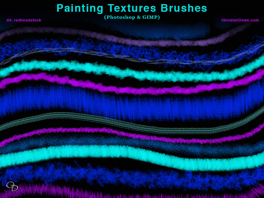 绘画材质Photoshop笔刷 绘画笔刷  photoshop brush