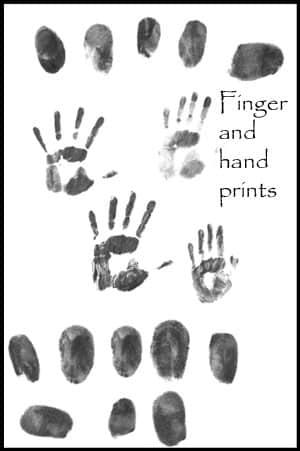 真实血指纹、血手掌印PS笔刷下载 指纹笔刷 手掌笔刷 手印笔刷  characters brushes