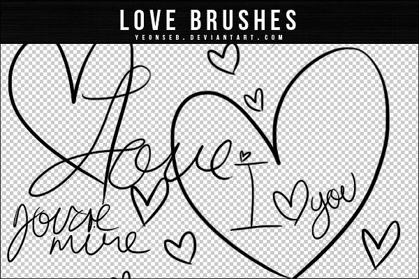 纯真手绘爱心涂鸦Photoshop笔刷 美图笔刷 纯真笔刷 爱情涂鸦笔刷 爱心笔刷 手绘爱心笔刷 情人节笔刷 可爱笔刷  love brushes %e6%b6%82%e9%b8%a6%e7%ac%94%e5%88%b7