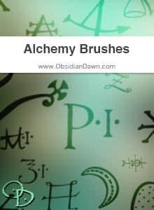 神秘数字符号PS下载 神秘符号笔刷  symbols brushes