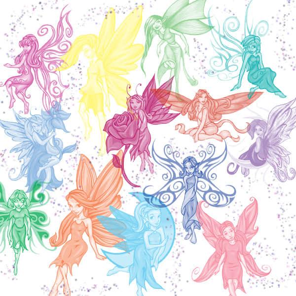 漂亮的小妖精、精灵PS笔刷素材下载 精灵笔刷 妖精笔刷  %e5%8d%a1%e9%80%9a%e7%ac%94%e5%88%b7