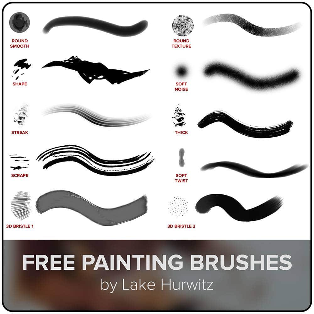 免费高清自由刷子Photoshop笔刷下载 高清笔刷  photoshop brush