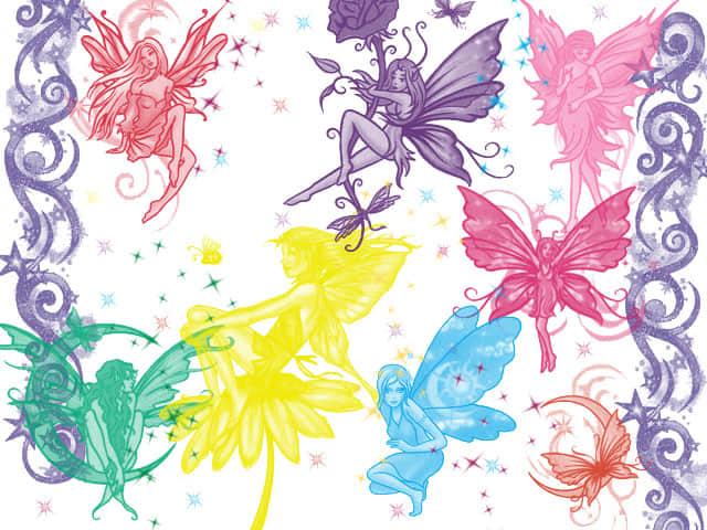 性感的小妖精、小精灵Photoshop笔刷下载 精灵笔刷 妖精笔刷  %e5%8d%a1%e9%80%9a%e7%ac%94%e5%88%b7