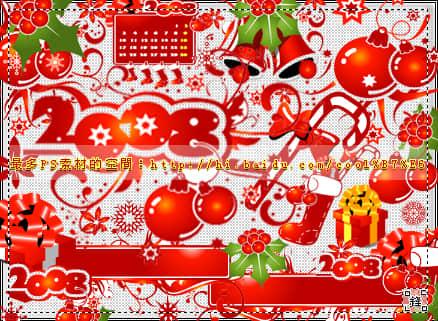 圣诞节节日装扮素材Photoshop笔刷下载 圣诞节笔刷 卡通圣诞节笔刷  %e5%8d%a1%e9%80%9a%e7%ac%94%e5%88%b7
