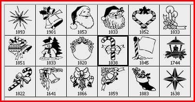 圣诞节卡通造型素材PS笔刷下载 美图笔刷 圣诞节笔刷  %e5%8d%a1%e9%80%9a%e7%ac%94%e5%88%b7