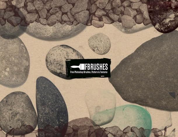 石头、石块、鹅卵石、碎石PS笔刷下载 鹅卵石笔刷 碎石笔刷 石头笔刷 石块笔刷  %e5%a2%99%e5%a3%81%e4%b8%8e%e5%9c%b0%e9%9d%a2%e7%ac%94%e5%88%b7
