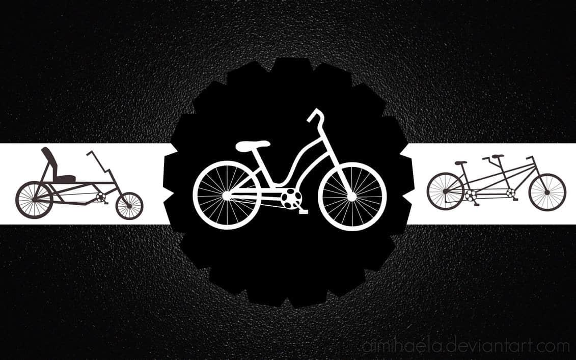 矢量自行车造型PS笔刷下载 自行车笔刷  %e5%8d%a1%e9%80%9a%e7%ac%94%e5%88%b7