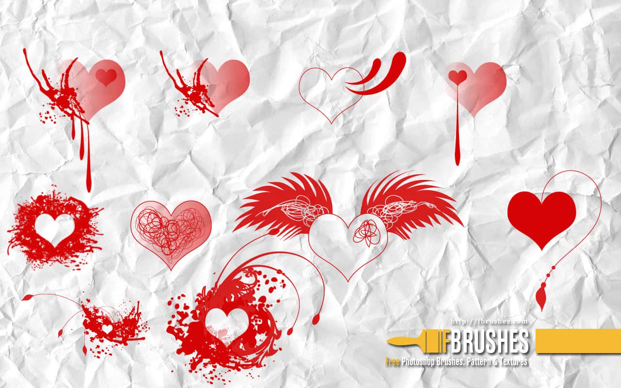 非主流涂鸦爱心、超酷心形PS笔刷下载 爱心笔刷 情人节笔刷  %e9%9d%9e%e4%b8%bb%e6%b5%81%e7%ac%94%e5%88%b7 love brushes