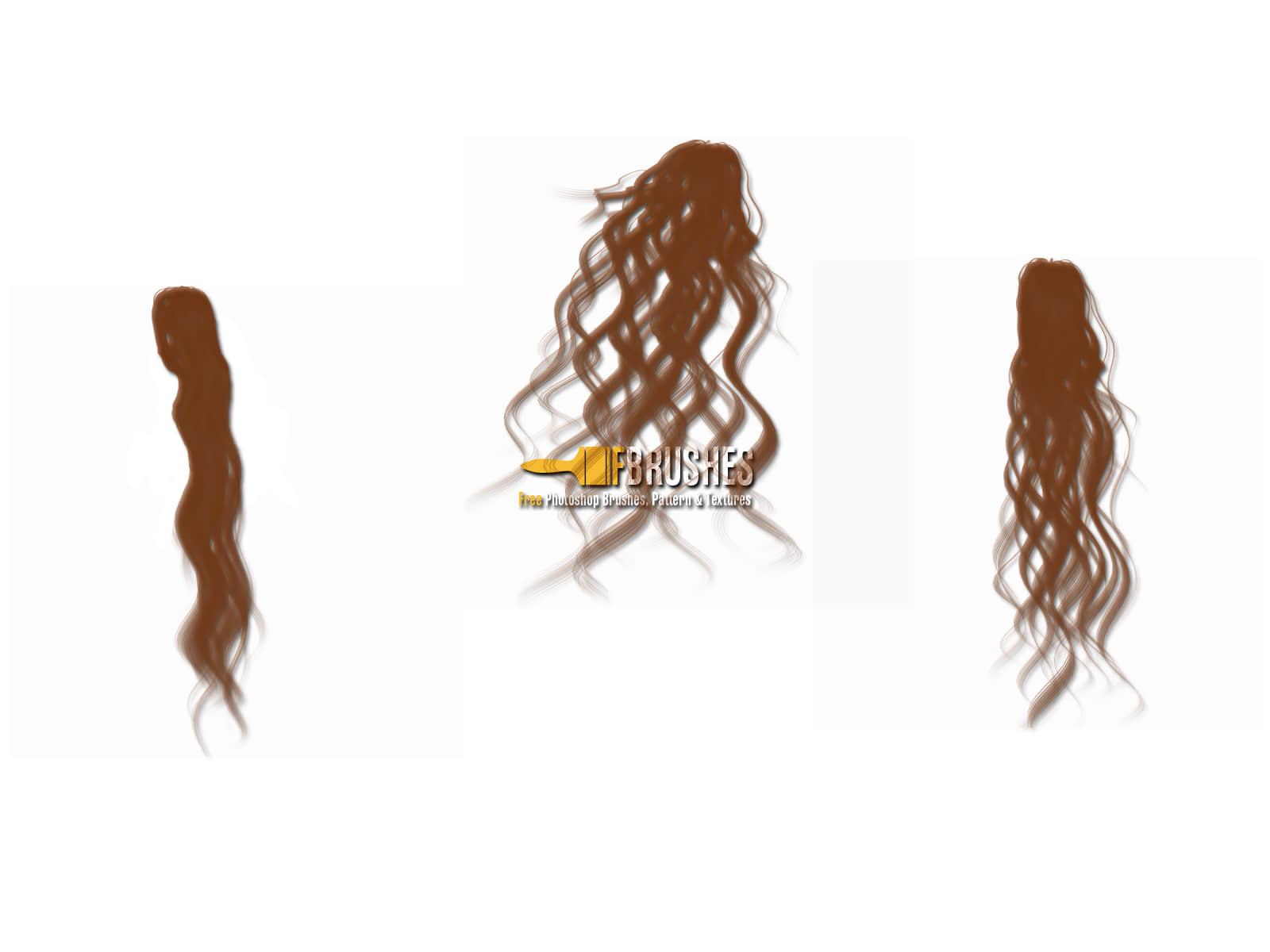 女式长发发型、飘发PS笔刷下载 长发笔刷 女式发型笔刷 发型笔刷  %e6%af%9b%e5%8f%91%e7%ac%94%e5%88%b7