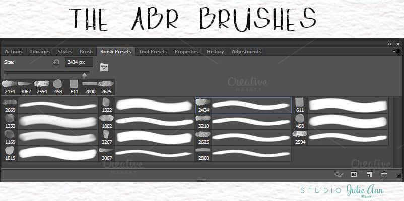 高级水彩画笔套装PS笔刷素材下载 水彩笔刷  photoshop brush