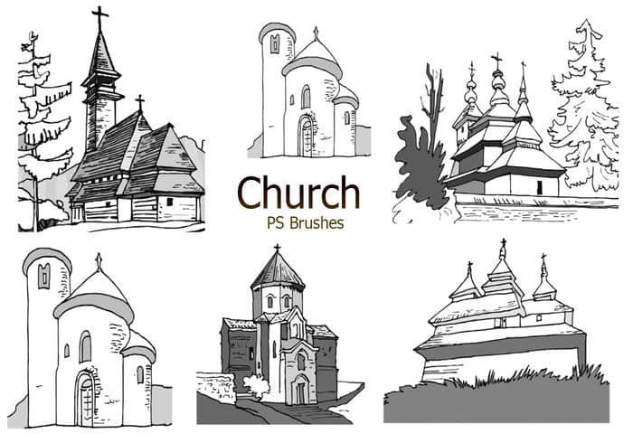 20-sketch-church-ps-brushes-abr-vol-4