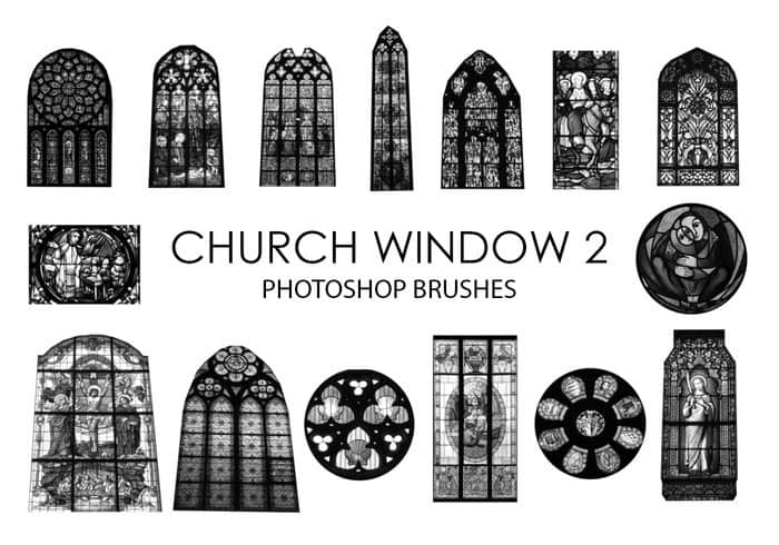 free-church-window-photoshop-brushes-2