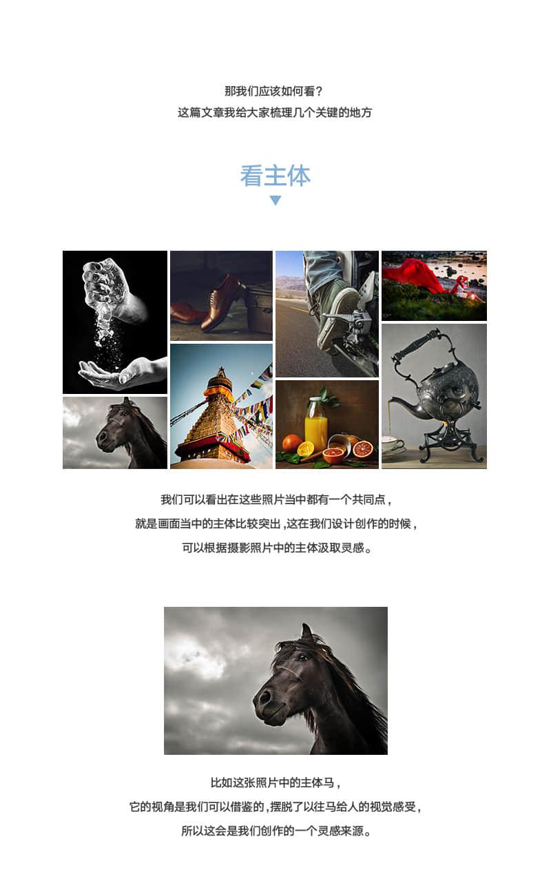 从摄影照片中获得设计灵感   大牛进化史  ruanjian jiaocheng