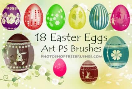 easter_eggs_brushes_178347