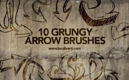 grungy_arrow_brushes_178339