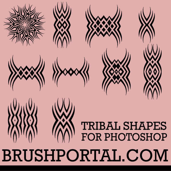 tribal_custom_shapes_for_photoshop_cs2_and_later_by_brushportal-d6s40xv