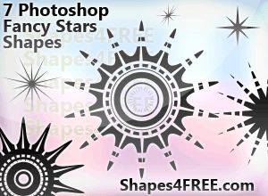 preview-7-stars-Shapes4FREE