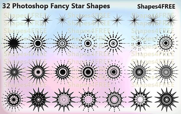 7种星星样式花纹图案Photoshop自定义形状素材下载 星型笔刷 PS自定义形状素材  adornment brushes flowers brushes ps%e8%87%aa%e5%ae%9a%e4%b9%89%e5%bd%a2%e7%8a%b6%e7%b4%a0%e6%9d%90