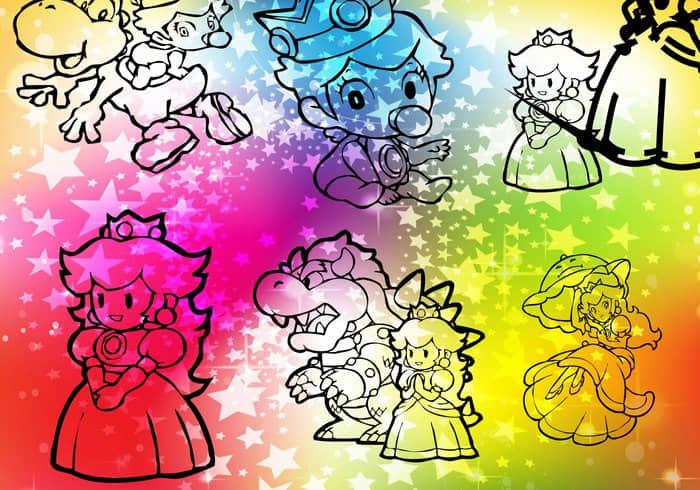 peach-princess-photoshop-shapes