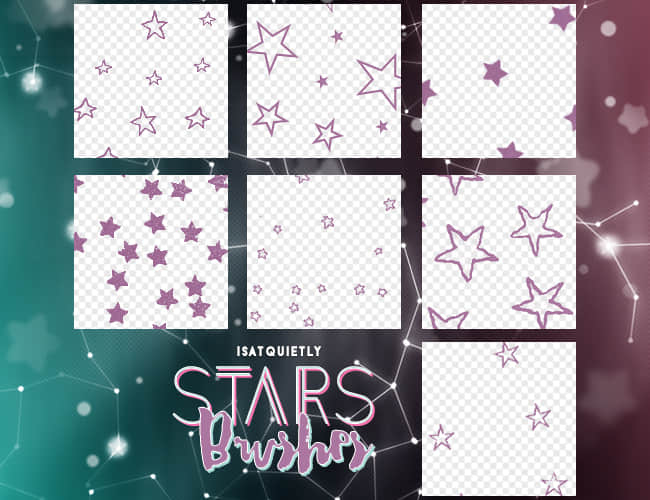 _stars_brushes_by_isatquietly-da39e1r
