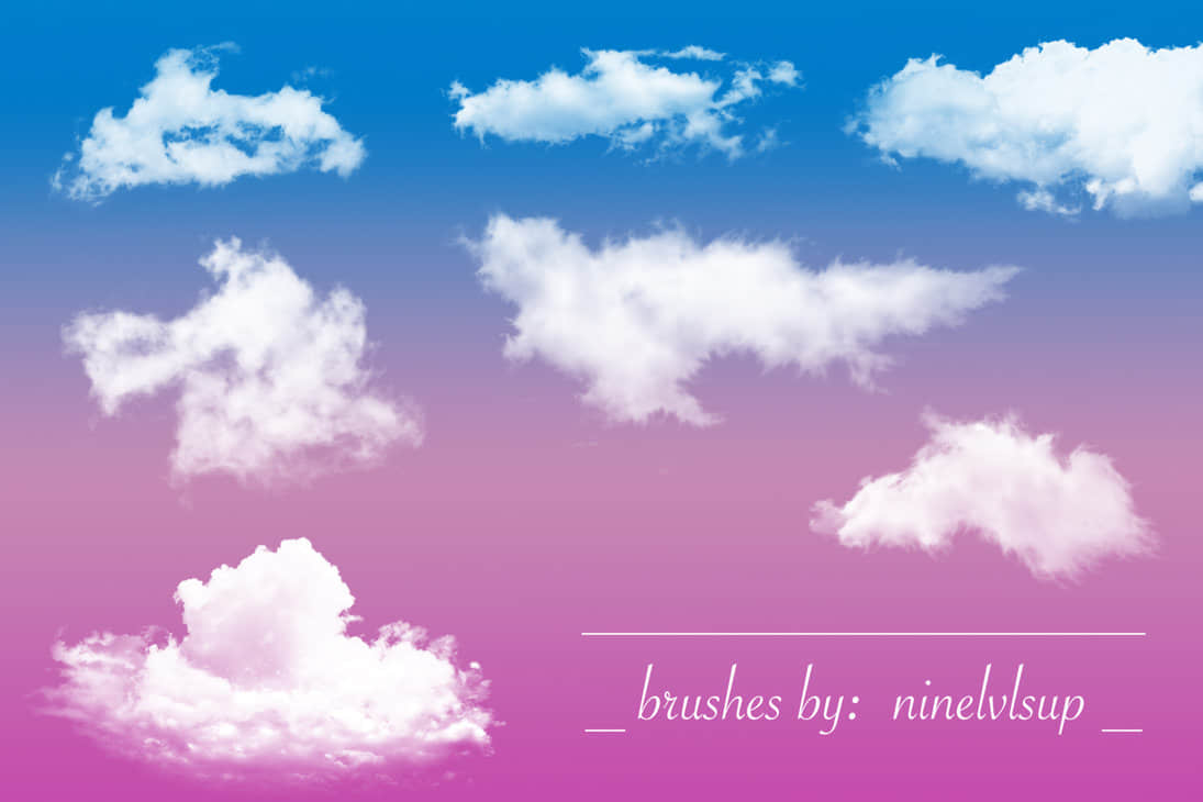 fluffy_clouds_brushes_by_ninelvlsup-d97yij2
