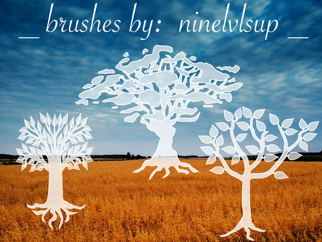 3_tree_brushes_by_ninelvlsup-d97jxl3