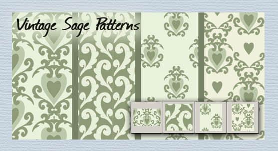 vintage_sage_patterns_by_melemel