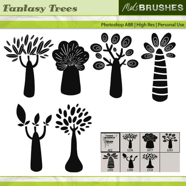 fantasy_trees_by_melemel