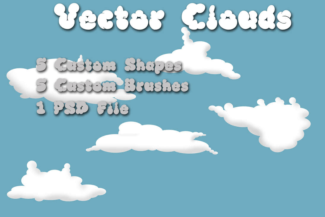 clouds_brushes_and_shapes_by_rev_jesse_c_stock