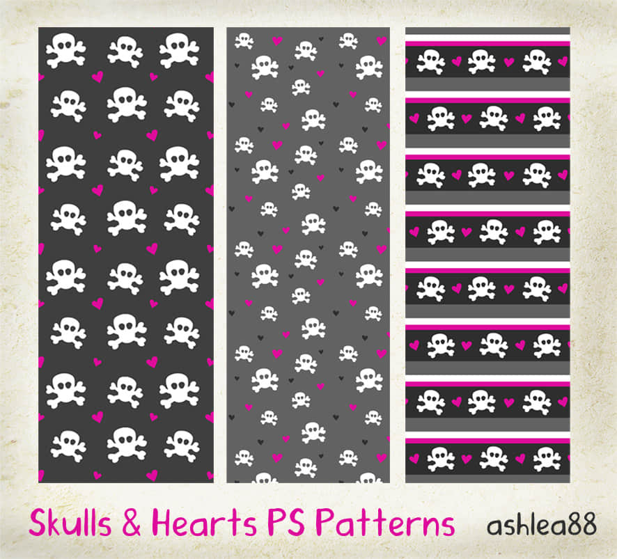 skulls_and_hearts_ps_patterns_by_ashzstock