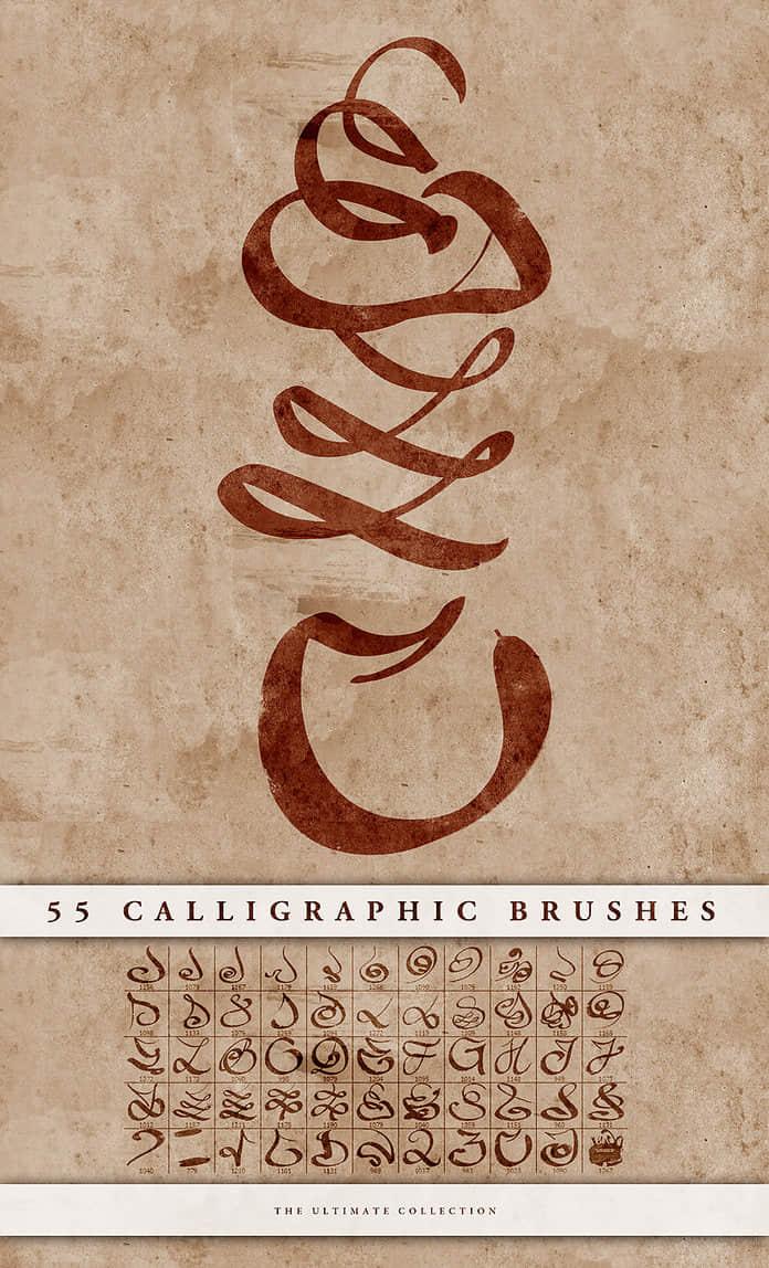 calligraphic-brushe