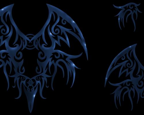 tribal_wings_brushes_by_oceannist-d1q5hi5
