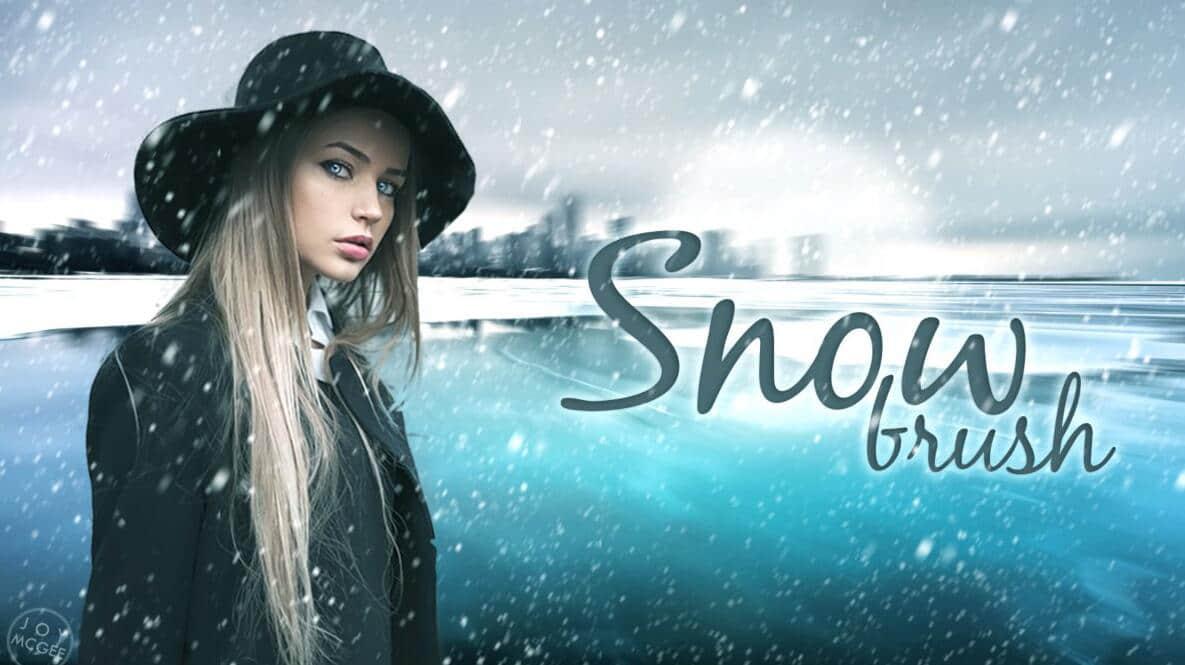下雪、大雪、雪花、暴风雪、雪景Photoshop天气场景笔刷 雪花笔刷 雪景笔刷 暴风雪笔刷 天气笔刷 下雪笔刷  background brushes