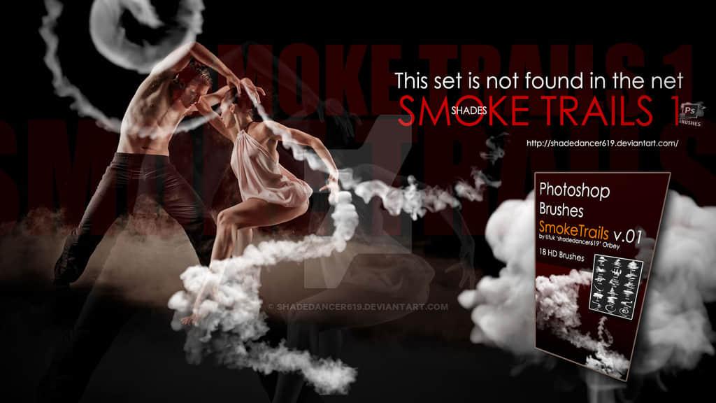 烟雾效果、浓烟、烟气轨迹Photoshop烟雾笔刷 烟雾笔刷 浓烟笔刷  flame brushes