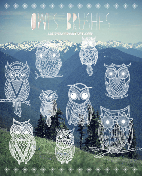 owls_brushes__abr_files__by_lucy9o-d6lte5x